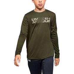 Under Armour - Boys Big Logo Print Fill Long-Sleeve T-Shirt
