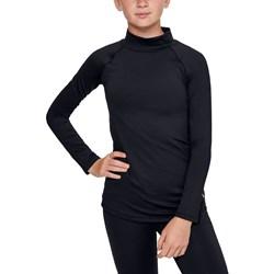 Under Armour - Girls Coldgear Mock Long-Sleeve T-Shirt