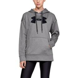 Under Armour - Womens Synthetic Fleece Chenille Logo Po Fleece Top