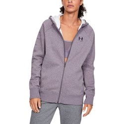 Under Armour - Womens Rivalsportstyle Lceeve Graphic Fleece Top