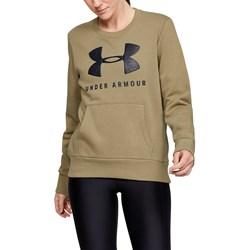 Under Armour - Womens 12.1 Rivalsportstyle Graphic Crew Fleece Top