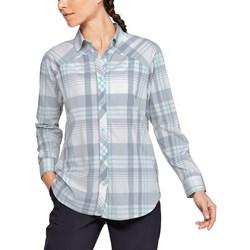 Under Armour - Womens High Tide Plaid Long-Sleeve T-Shirt