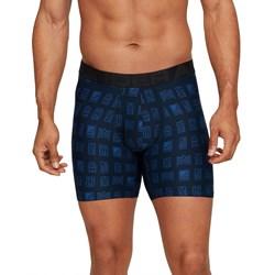 Under Armour - Mens Tech 6In 2 Pack Novelty Underwear Bottoms