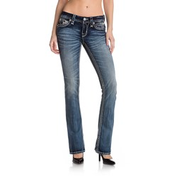 Rock Revival - Womens Rima Boot Cut Jeans