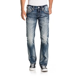 Rock Revival - Mens Burro J202 Straight Jeans