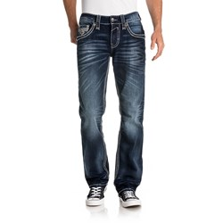 Rock Revival - Mens Neilly J207 Straight Jeans