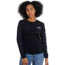 Dickies Girl - Reflective Logo Long Sleeve T-Shirt