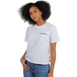 Dickies Girl - Skewed Check Tomboy T-Shirt