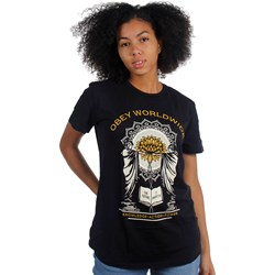 OBEY - Womens Obey Knowledge & Action T-Shirt
