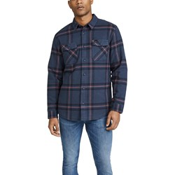 RVCA - Mens Yield Flannel Woven Long Sleeve