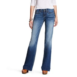 Ariat - Womens Trouser Baseball Stitch Denim Jeans