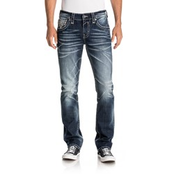 Rock Revival - Mens Albus A208 Alt Straight Jeans