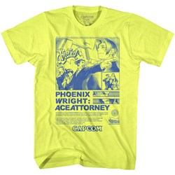 Ace Attorney - Mens Print Ad T-Shirt