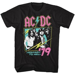 Ac/Dc - Mens Neon Highway T-Shirt