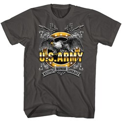 Army - Mens Honor Respect Courage T-Shirt