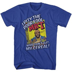 Mr. T - Mens Cereal T-Shirt