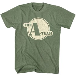 A-Team - Mens Round Logo T-Shirt