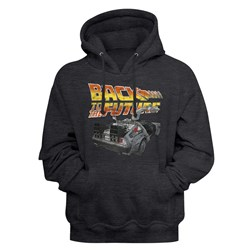 Back To The Future - Mens Btf Car Hoodie