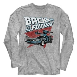 Back To The Future - Mens Logo Traingle Car T-Shirt