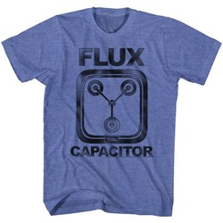 Back To The Future - Mens Flux T-Shirt