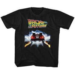 Back To The Future - Unisex-Child Tail Lights T-Shirt