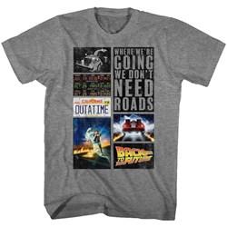 Back To The Future - Mens Future Hits T-Shirt