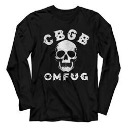 Cbgb - Mens Skull T-Shirt