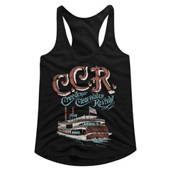 Creedence Clearwater Revival - Womens Riverboat Racerback Top