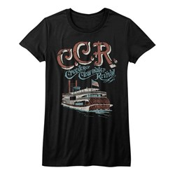 Creedence Clearwater Revival - Girls Riverboat T-Shirt