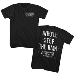 Creedence Clearwater Revival - Mens Stop The Rain T-Shirt