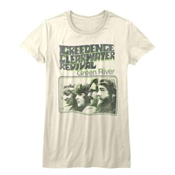 Creedence Clearwater Revival - Girls Green River T-Shirt