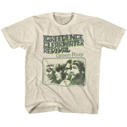 Creedence Clearwater Revival - Unisex-Child Green River T-Shirt