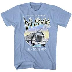Def Leppard - Mens Pastel Night T-Shirt