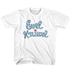 Evel Knievel - Unisex-Child Evelknievel T-Shirt