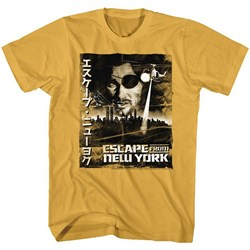 Escape From New York - Mens Worn Japaese Poster T-Shirt