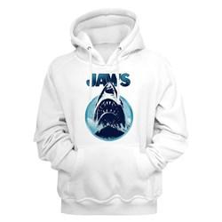 Jaws - Mens Jaw Blue Circle Hoodie