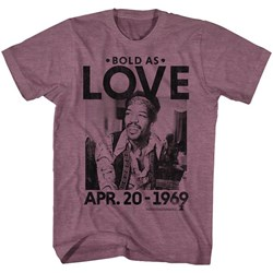 Jimi Hendrix - Mens Bold As Love T-Shirt