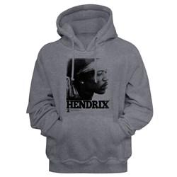 Jimi Hendrix - Mens Vintage Face Hoodie