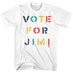 Jimi Hendrix - Mens Vote T-Shirt