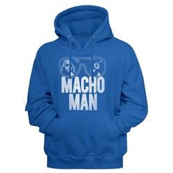 Macho Man - Mens Redo Hoodie