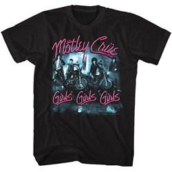 Motley Crue - Mens Girls Girls Girls T-Shirt