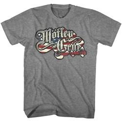 Motley Crue - Mens Crue Flag T-Shirt