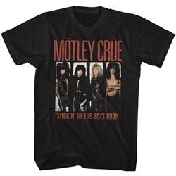Motley Crue - Mens Boys Room T-Shirt