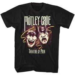 Motley Crue - Mens Theatre Of Pain T-Shirt