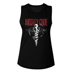 Motley Crue - Womens Dr Feel Good Muscle Tank Top