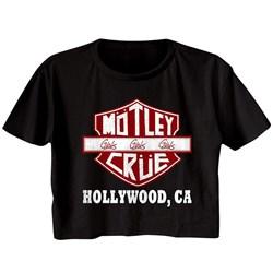 Motley Crue - Womens Crue Sign T-Shirt