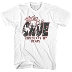 Motley Crue - Mens Kickstart My Heart T-Shirt