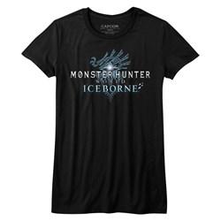 Monster Hunter - Mens Iceborn Logo T-Shirt