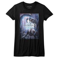 Monster Hunter - Girls Iceborn Keyart T-Shirt