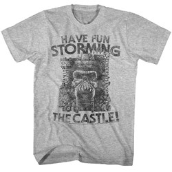 Masters Of The Universe - Mens Gray Storm T-Shirt